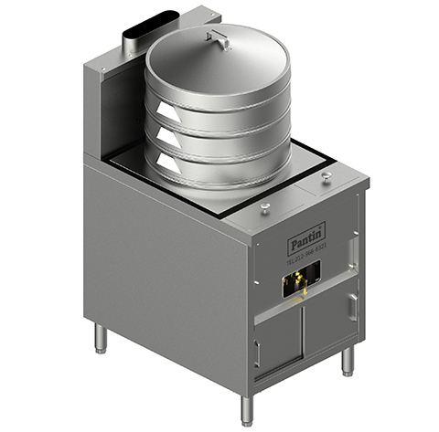 Bun Steamer Range w/ Automatic Water Fill