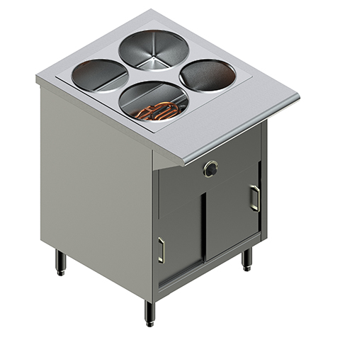 24″ Electric Steam Table