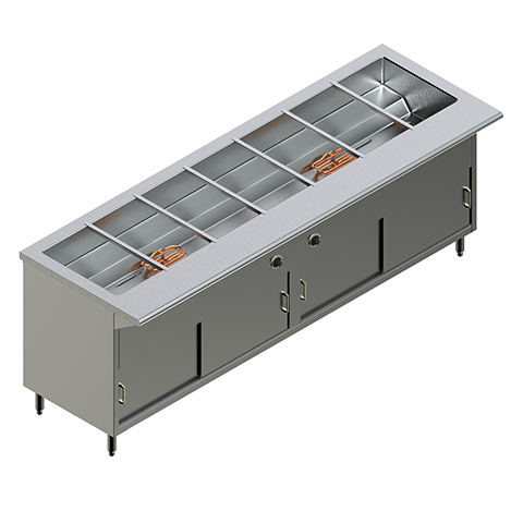 84″ Electric Steam Table