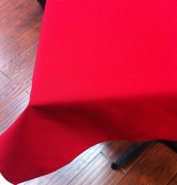 42″x42″Red Tablecloth