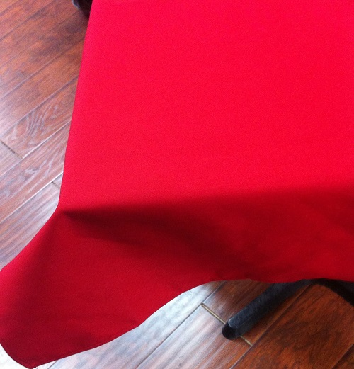 40″x64″Red Tablecloth