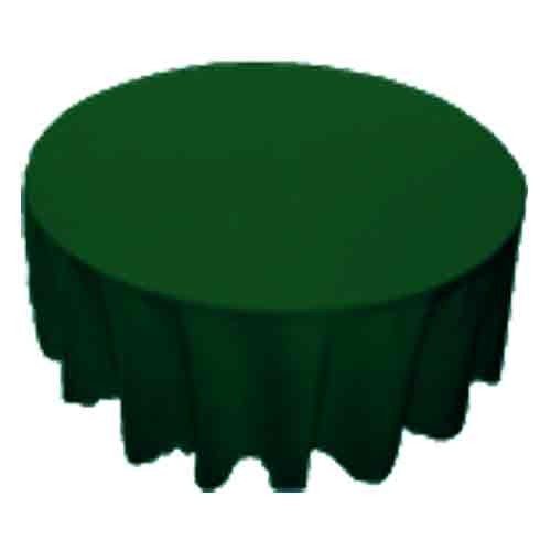 """90"""" Green Round Cloth-table"""