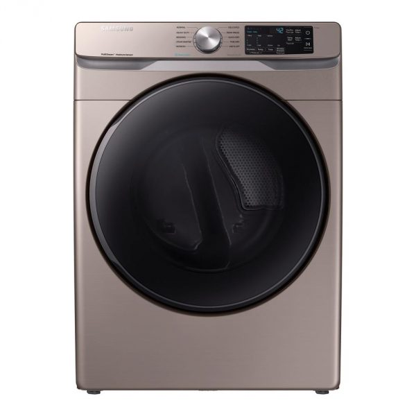 7.5 cu. ft. Champagne Gas Dryer with Steam