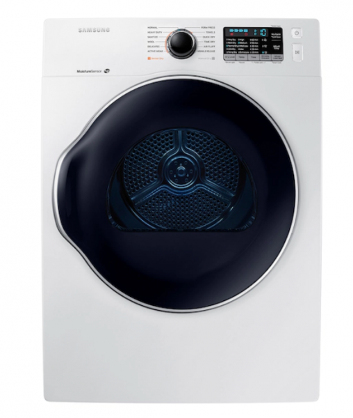 24 inch 4.0 cu. ft. Electric Dryer in White